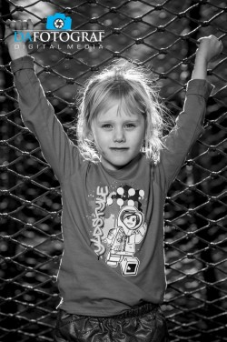 Dafotograf Børn Portræt